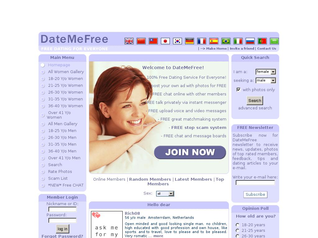 Rate dating websites