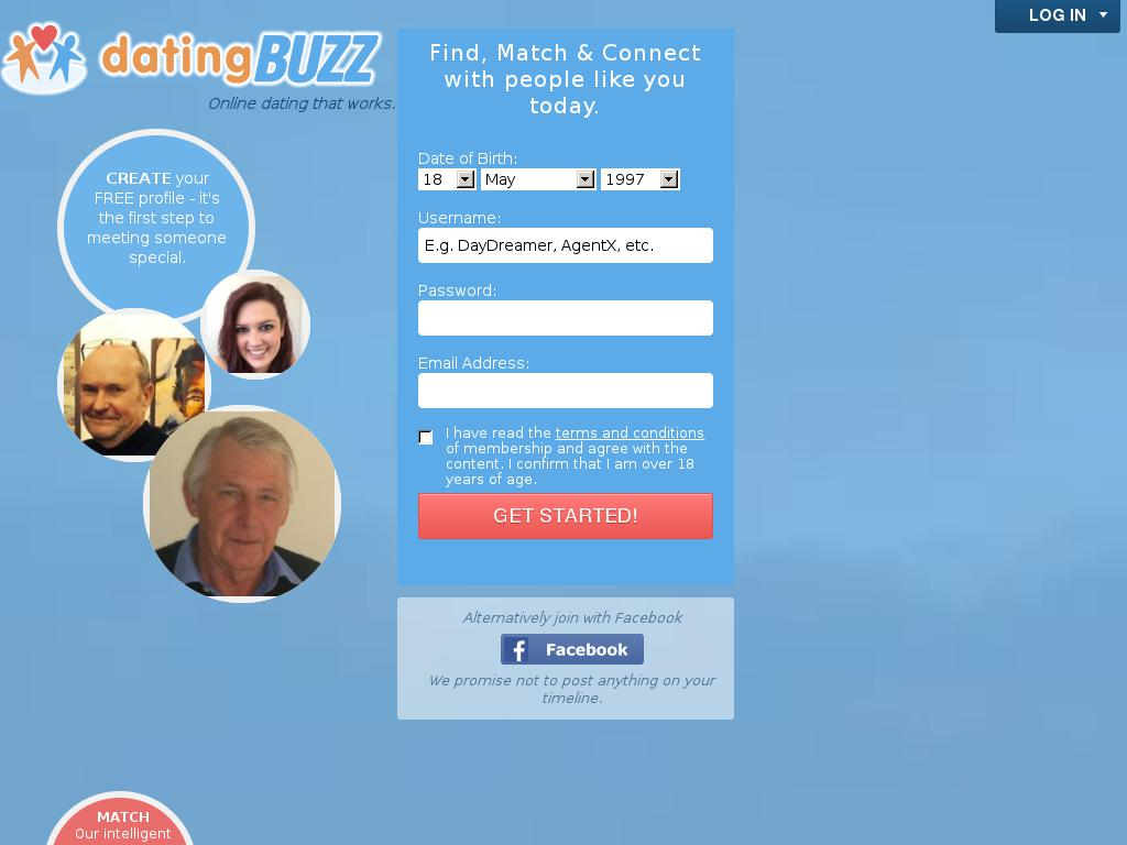 datingbuzz.co.za snapshot