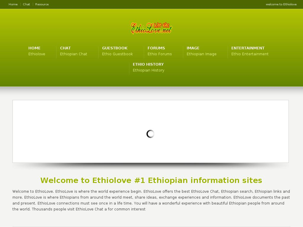 Have Fun Chatting With Ethiopians