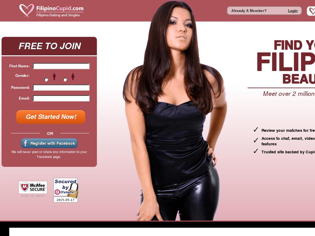 filipino cupid dating singles and personals websites