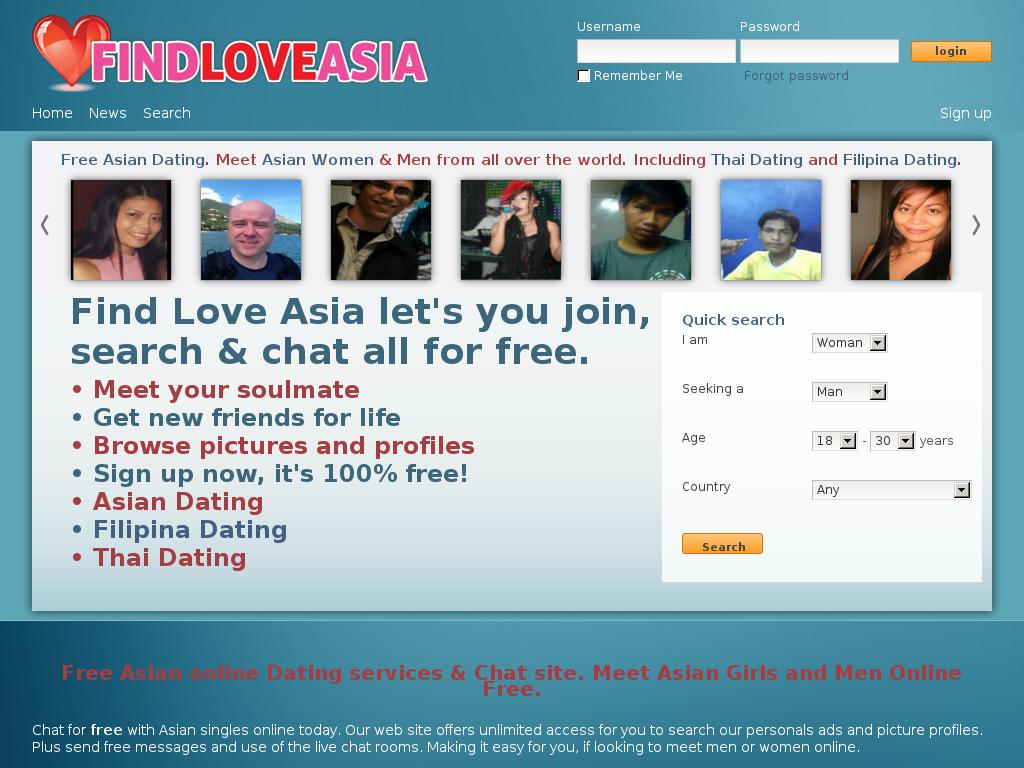 findloveasia.com snapshot