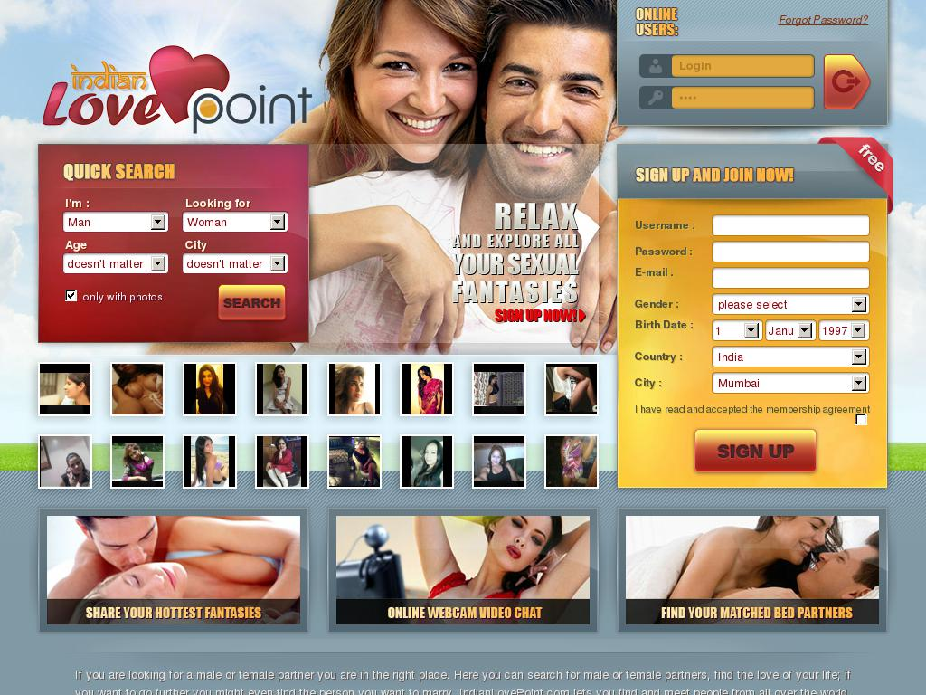 indianlovepoint.com snapshot