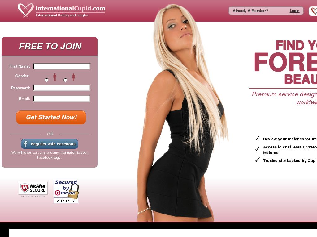 International online dating sites