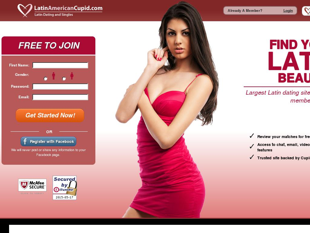 List of latinos dating site in usa