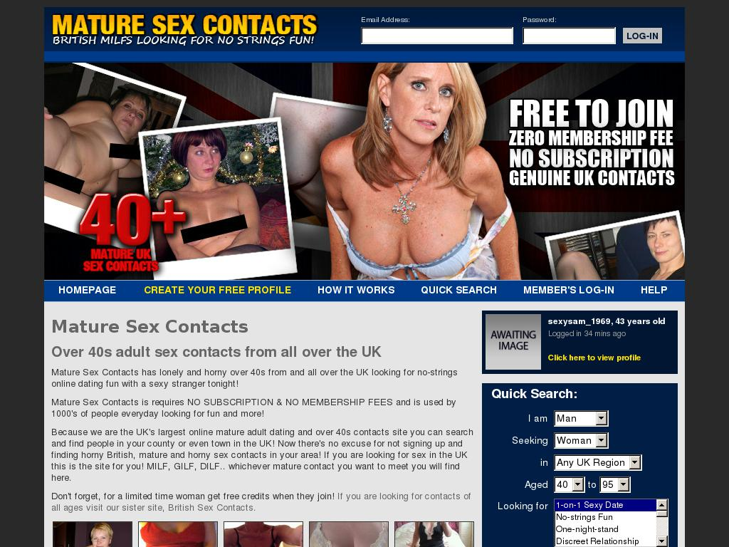 online sex dating sites