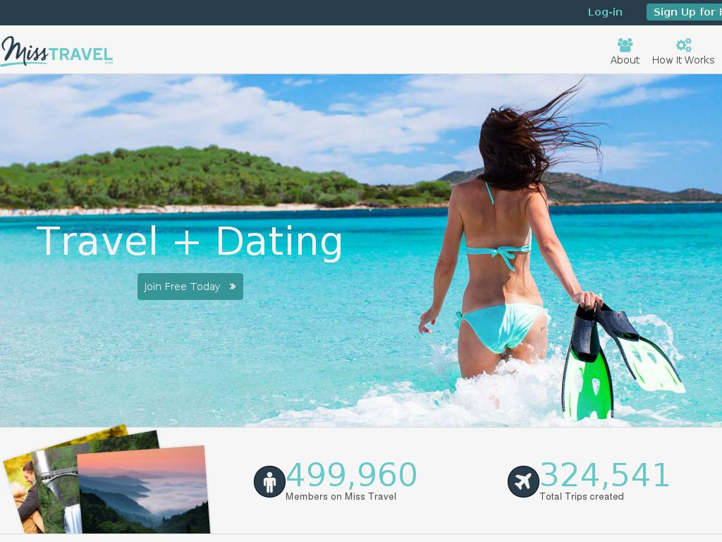 Misstravel #1 travel dating & travel companion site