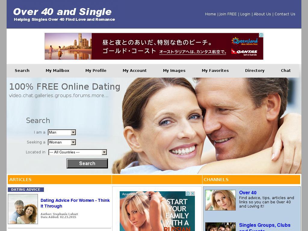 Over40andsingle com