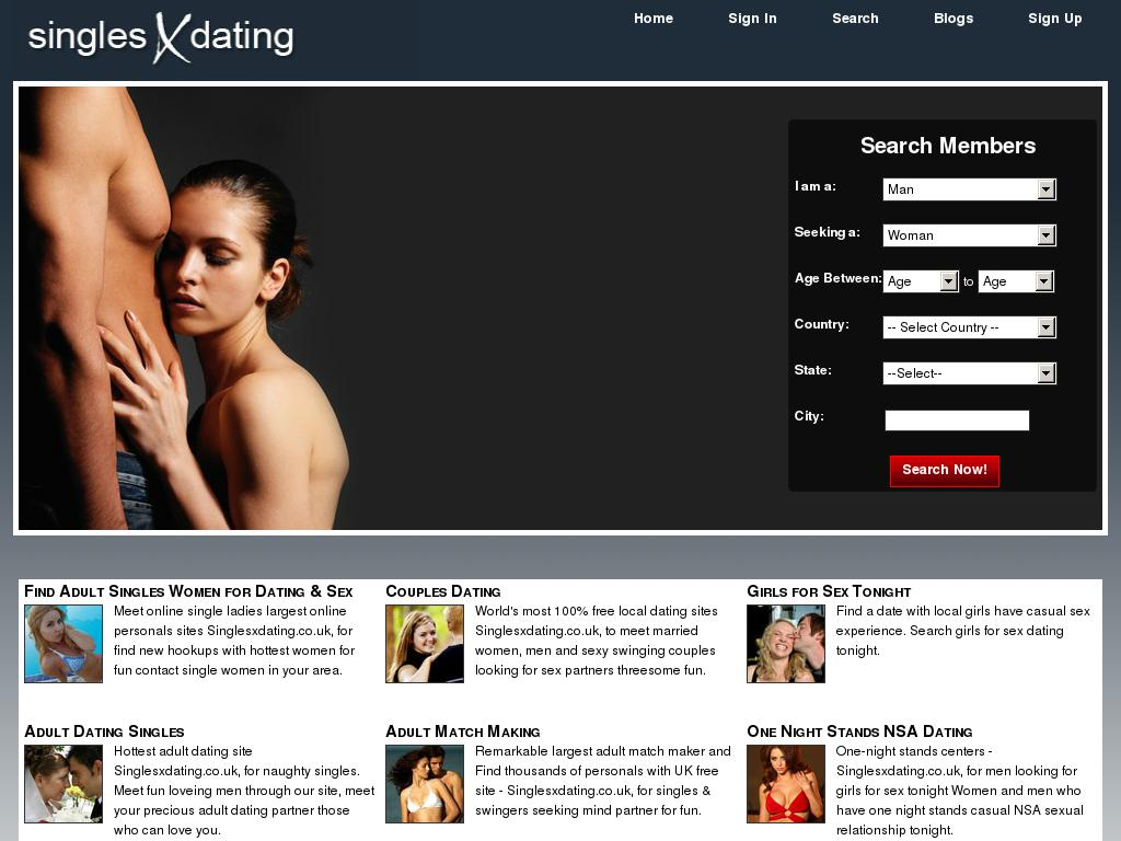 new adult dating sites